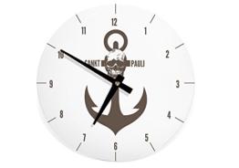 Wanduhr Uhr Sankt Pauli Hamburg WU014 - 1