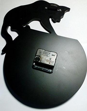 Zarupeng Acryl Wanduhr, Katze & Goldfisch Uhr ohne Tickgeräusche Lautlos Wanduhr Wall Clock Wandaufkleber Home Decor (One Size, A) - 3