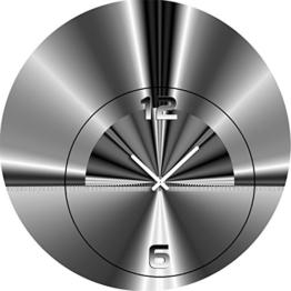 5070 Dixtime Designer Wanduhr, Wanduhren, Moderne Wohnraumuhr 40cm Durchmesser - 1