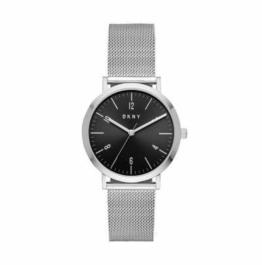 DKNY Damen Analog Quarz Uhr mit Edelstahl Armband NY2741 - 1