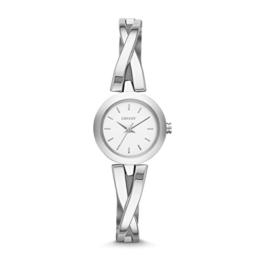 DKNY Damen-Armbanduhr XS Analog Quarz Edelstahl NY2169 - 1
