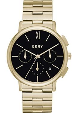 DKNY Damen Chronograph Quarz Uhr mit Edelstahl Armband NY2540 - 1