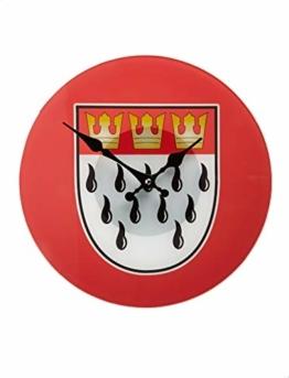 Wanduhr Köln Wappen Keine Größe - 1