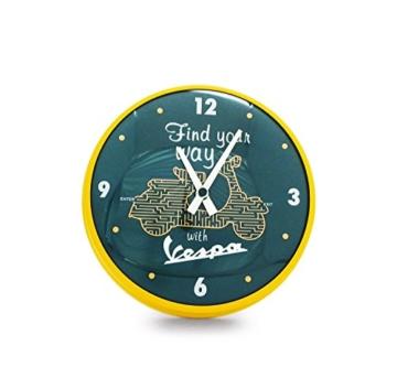 Wanduhr Vespa rund FIND YOUR WAY (verschiedene Größen) 25 cm - 1