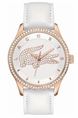 Lacoste Damen-Armbanduhr Analog Quarz Leder 2000821 - 1