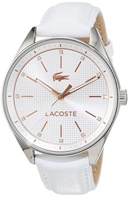 Lacoste Damen-Armbanduhr Analog Quarz Leder 2000900 - 1