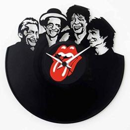 Rolling Stones vinyl original Geschenkidee Schwarz Vinyluse original - 1